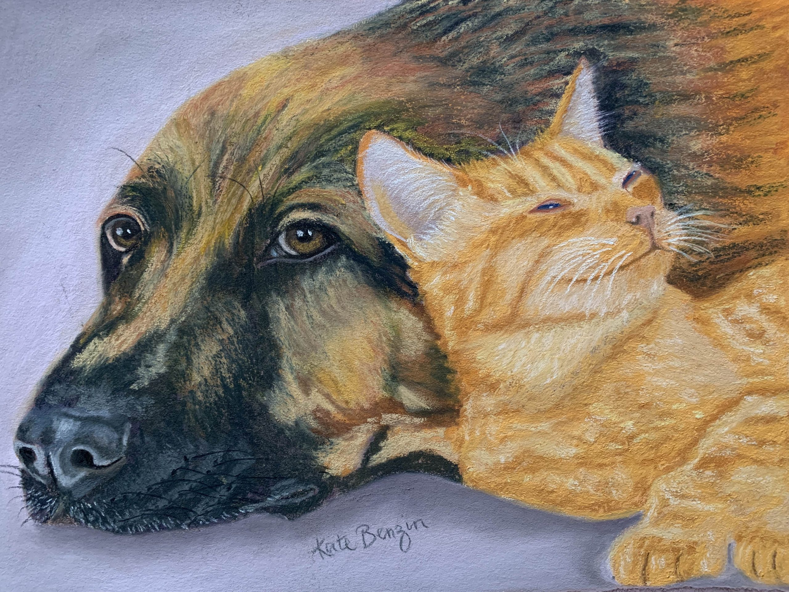 GSD and Kitty